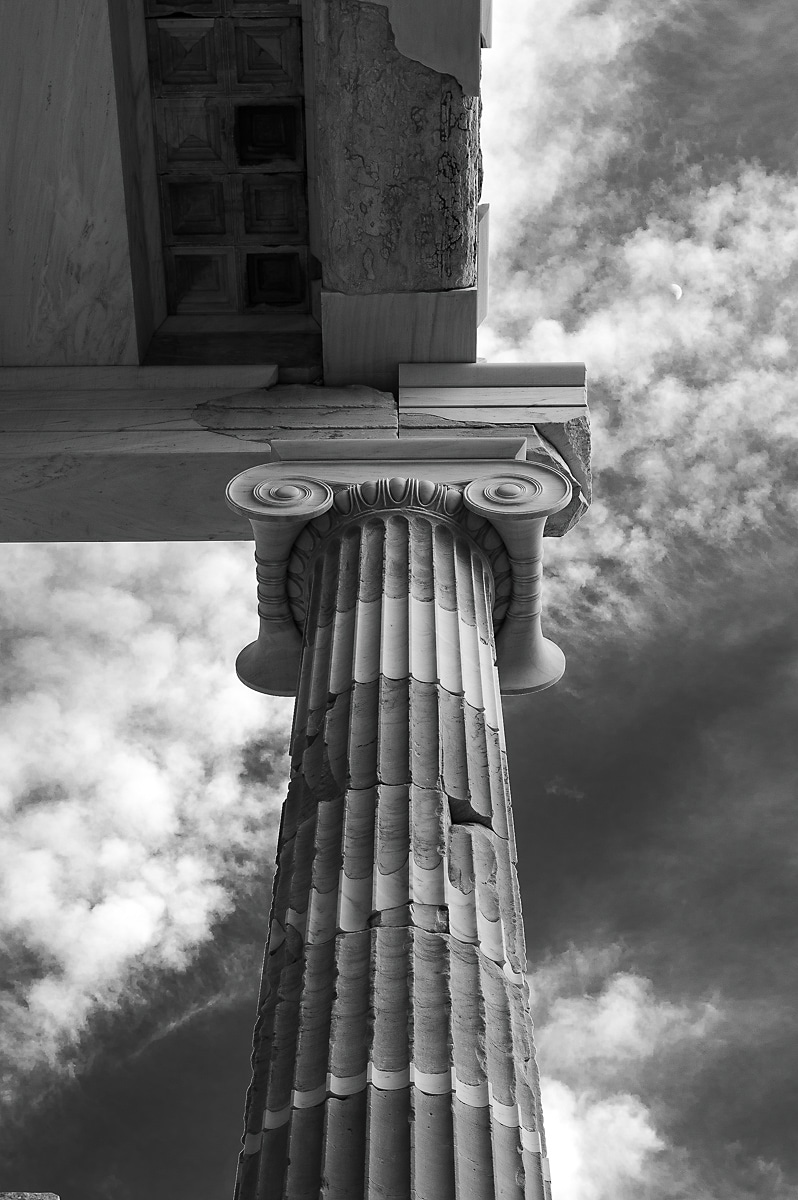 Trip & Trail goes to Athens and takes ten images in black and white from the ancient metropolis of western civilization capturing the spirit of the city.