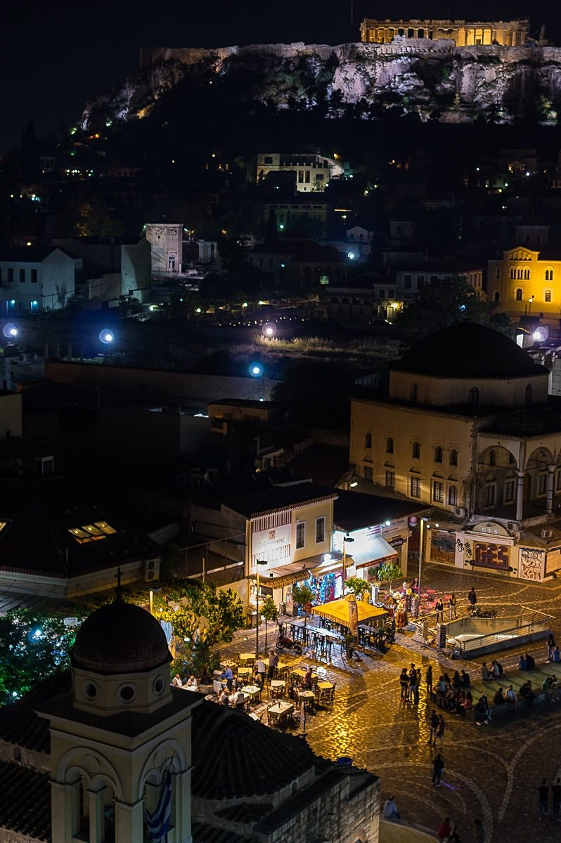 Monastiraki in the Night