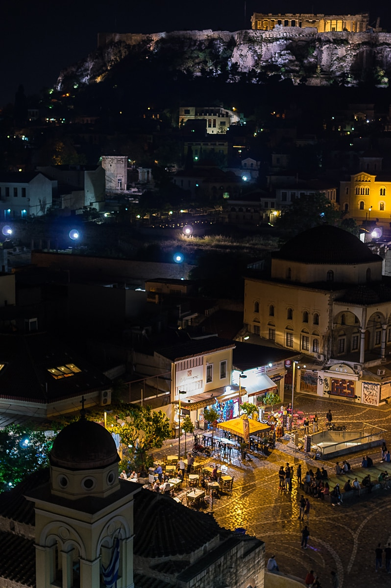 Athens : A Walk Around the Historical Center