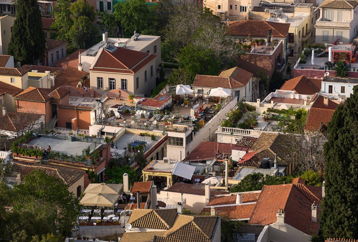 Rooftops of Plaka