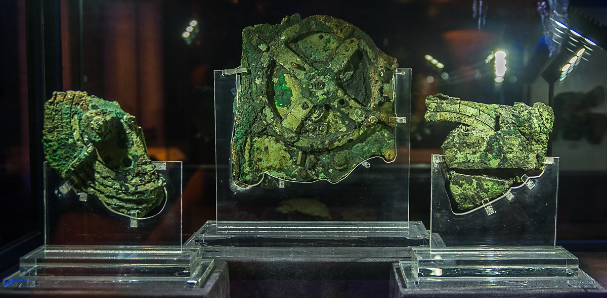 Antikythera Mechanism National Archaeological Museum