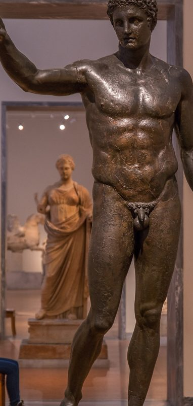 Bronze statue from Antikythera