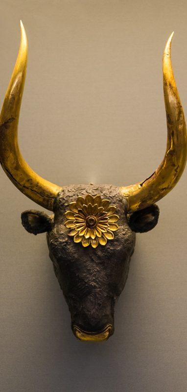 Bull Head shaped rhyton
