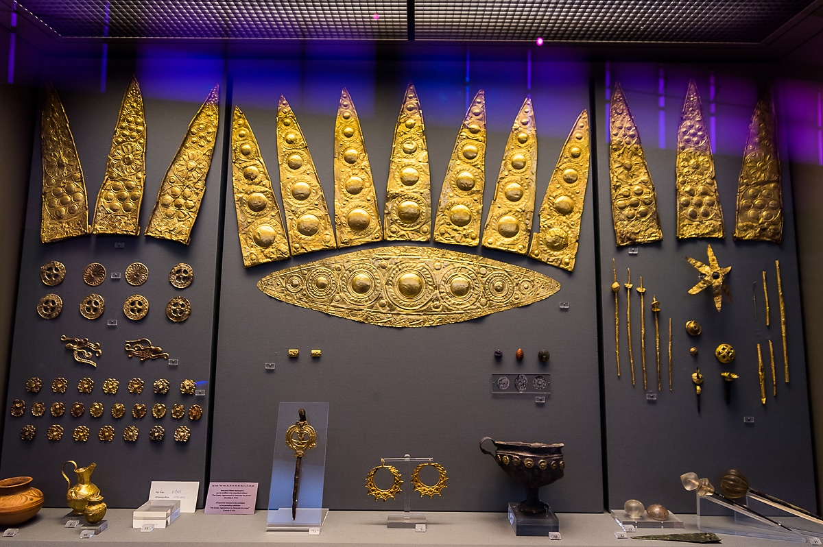 Jewellery in National Archaeological Museum