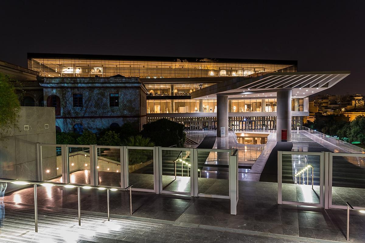 New Acropolis Museum Restaurant
