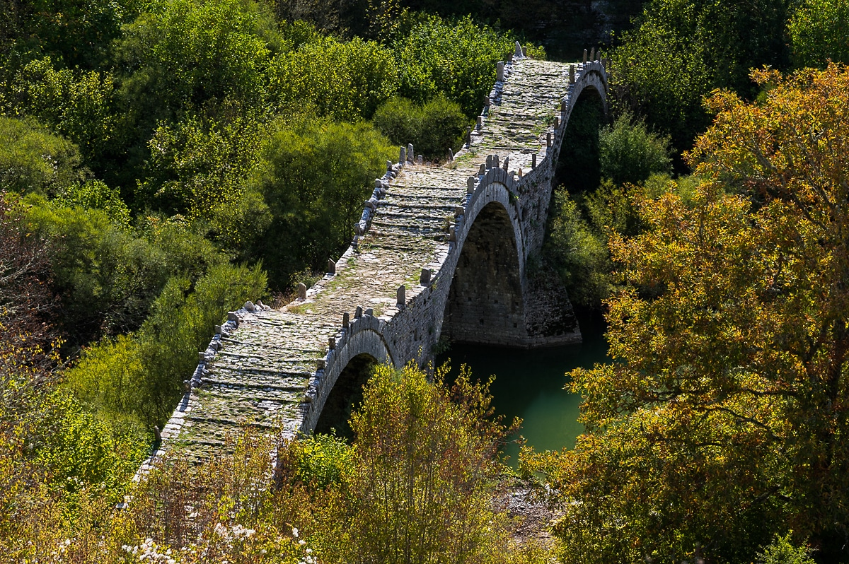 Zagori kalogerikon bridge