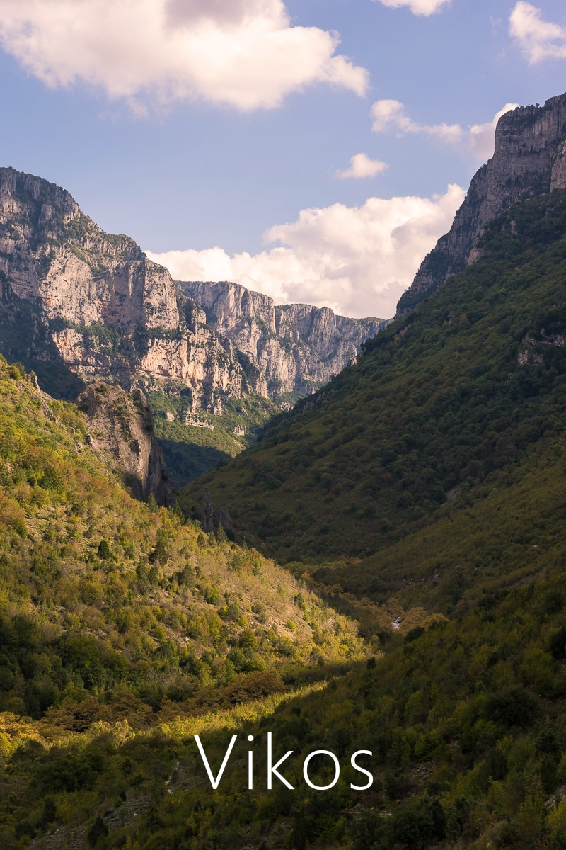 Hiking one of the most beautiful trails in Europe. The jewel of Zagori stands up to its name, offering to people who hike it some unforgettable experiences