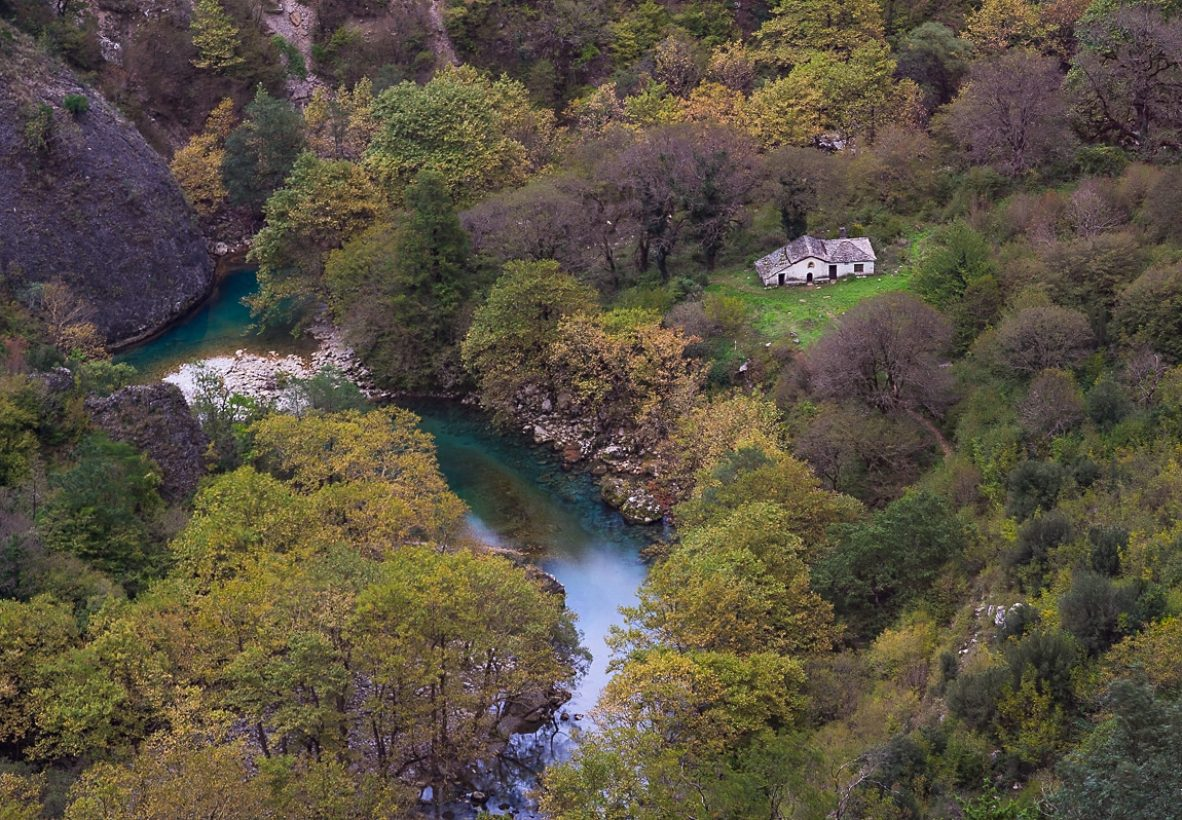 Vikos Gorge Hike Panagia church