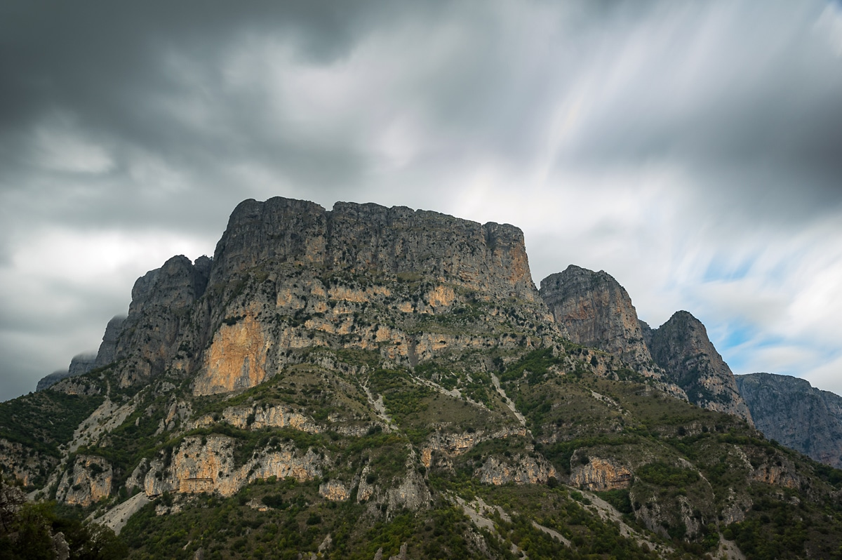 Vikos Gorge Hike the towers of astraka