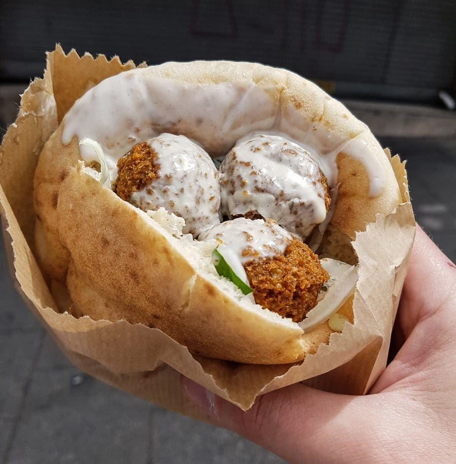 A day in Tel Aviv falafel