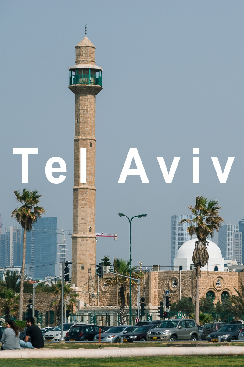 A day in Tel Aviv, the most hip city in Middle East and Jaffa, the ancient port that acts like a counterweight to the modern city.