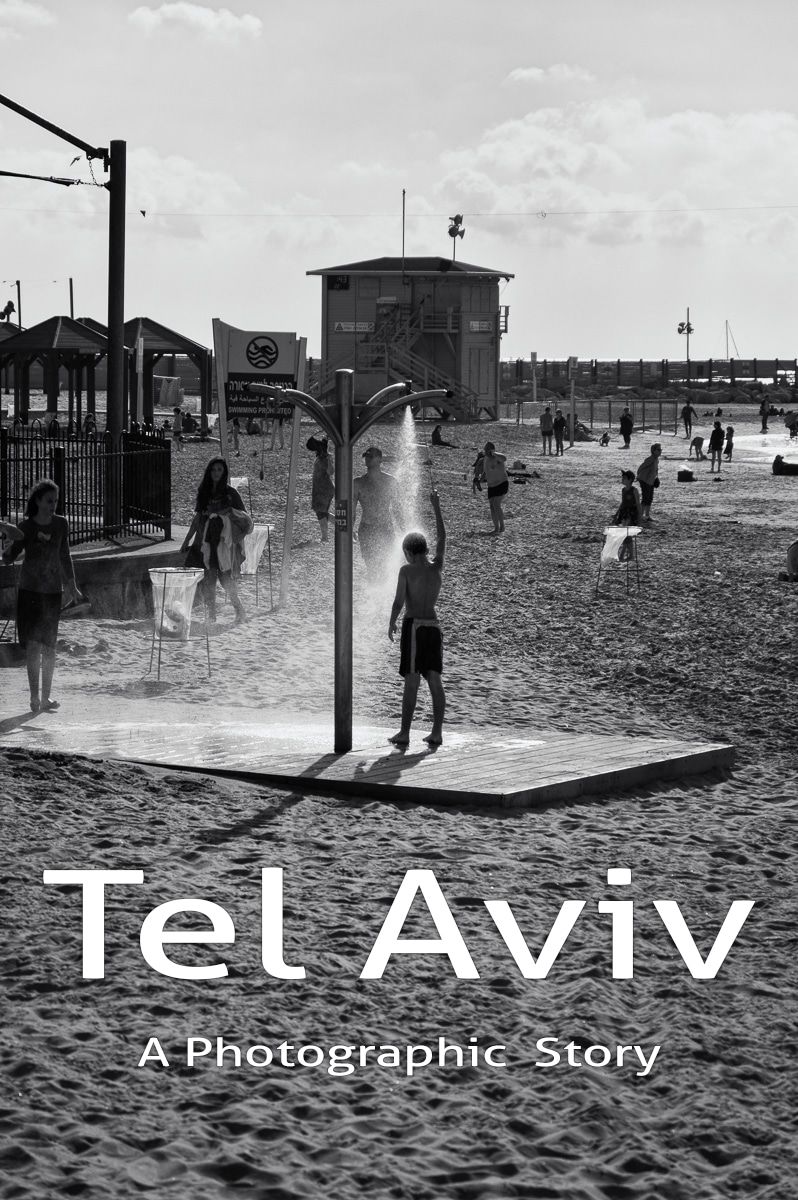 Tel Aviv in black and white. A photographic story about the hippest city of Middle East and its beautiful aqua front and beach goers.