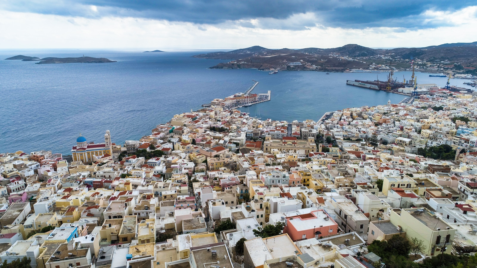 Syros : A Greek Island with Roman Influence Ermoupoli
