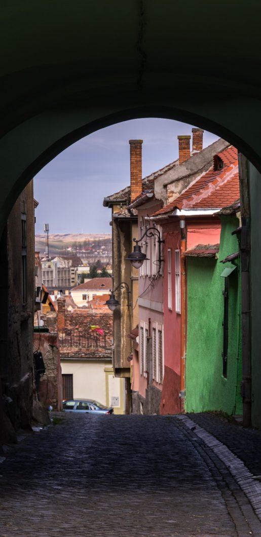 Sibiu Colorful Houses