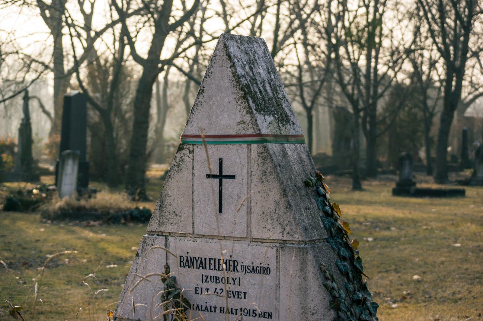 Triangular Tombstone