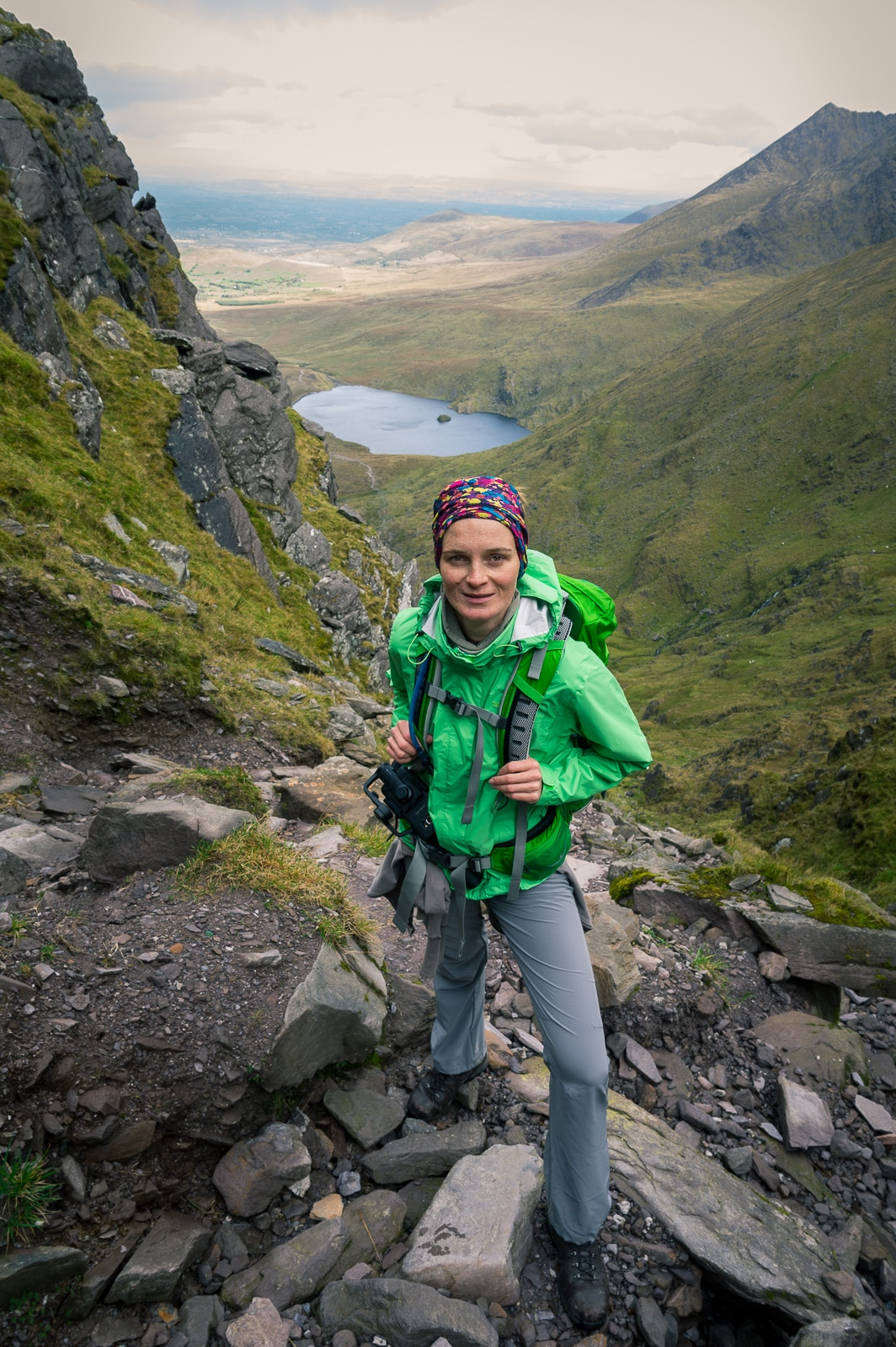 An adventure at the highest mountain peak in Ireland. The amazing hike to Carrauntoohil and how we climbed the notorious Devil\'s Ladder on the way to the summit.
