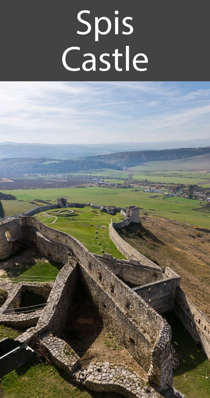 Spis Castle is one of the most impressive in Slovakia, a country that is famed for its castles, forts and medieval settlements.