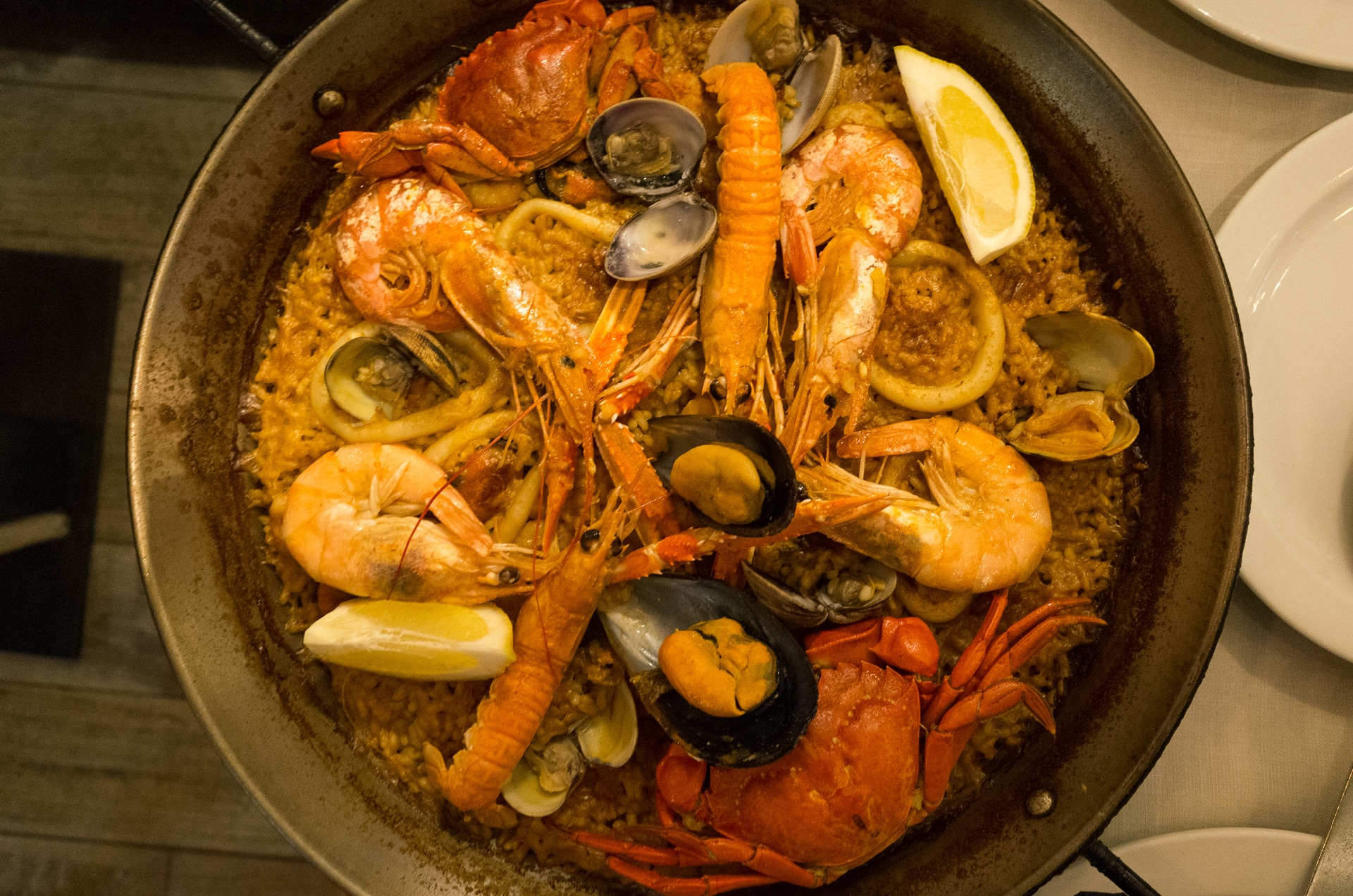 Great Food in Madrid and Where to Find It - Seafood Paella