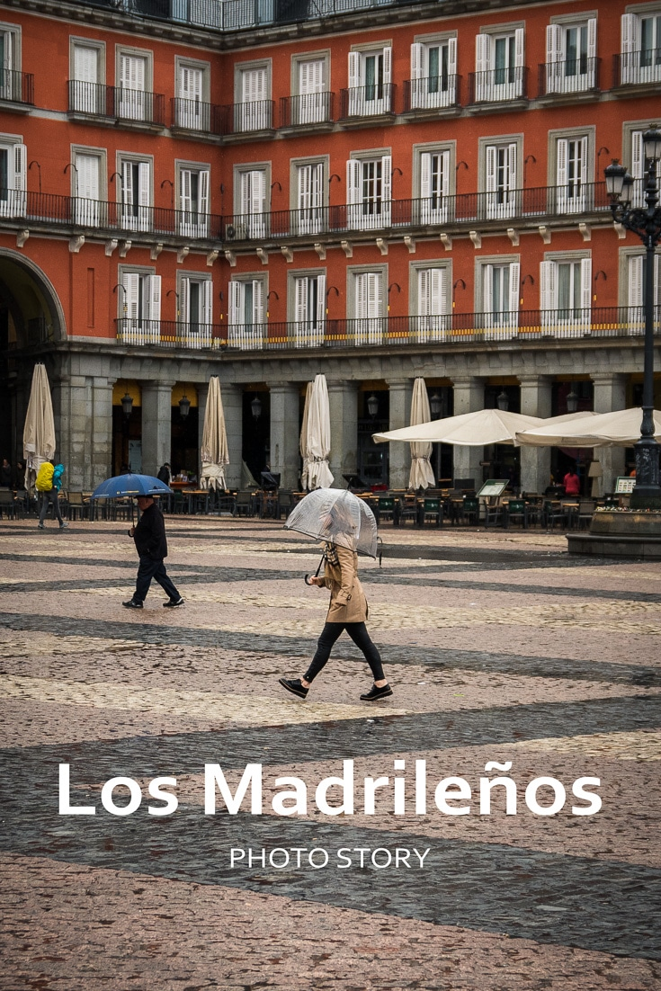 A photo essay on the streets and alleys of Madrid\'s colorful neighborhoods, as well as on its people, whose warmth is always glowing.