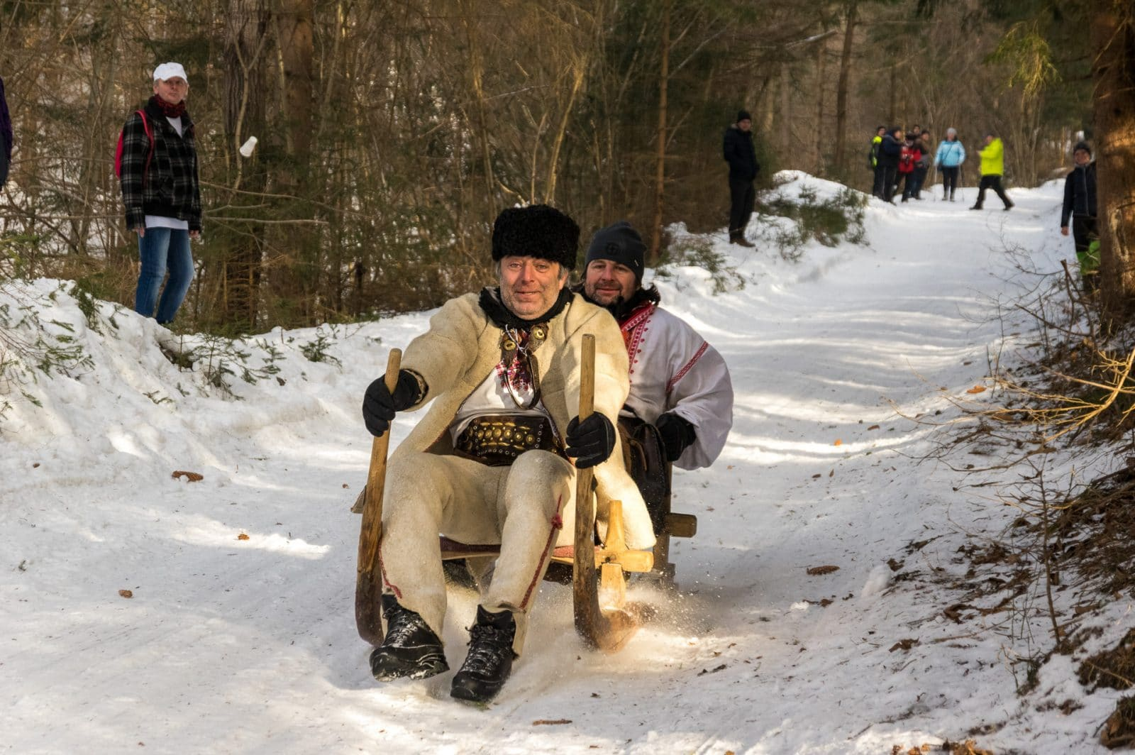 Krnohy : The Traditional Sledge Races of Slovakia