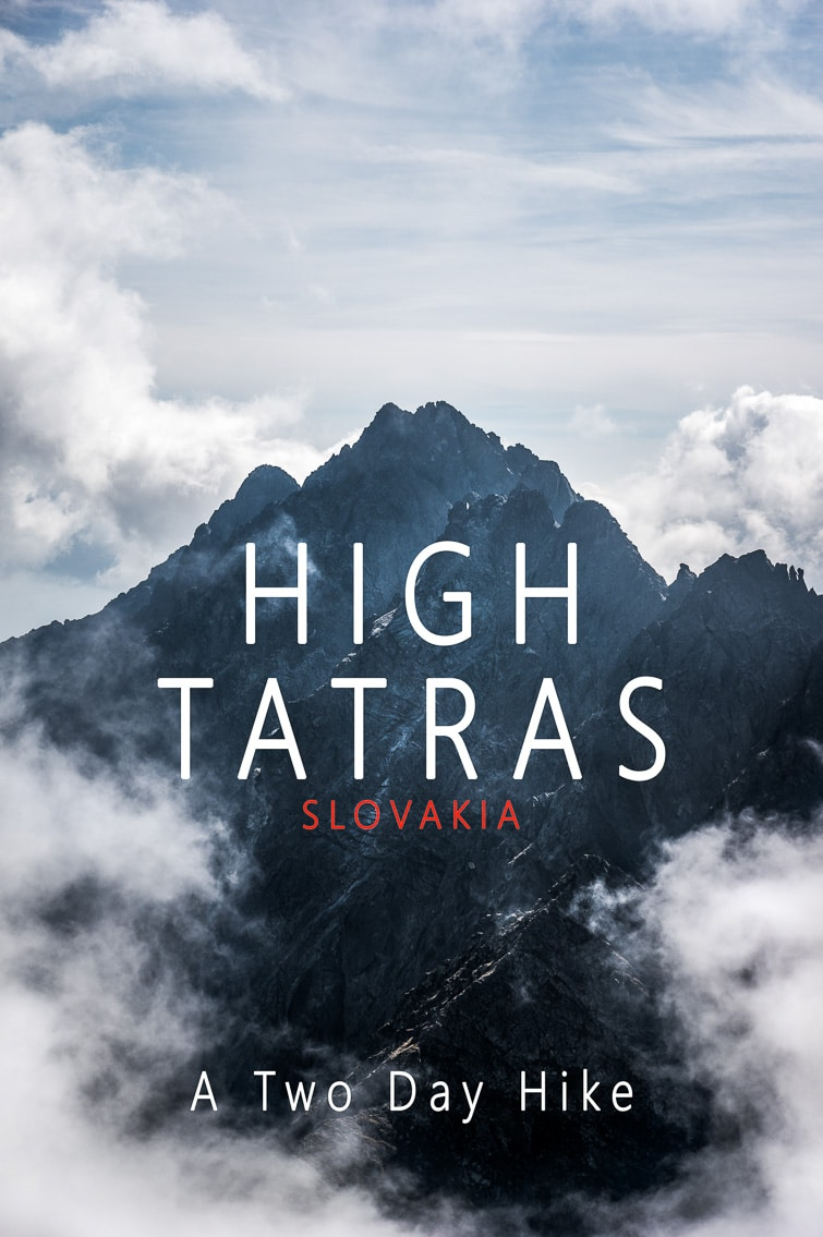 High Tatras hike pinterest