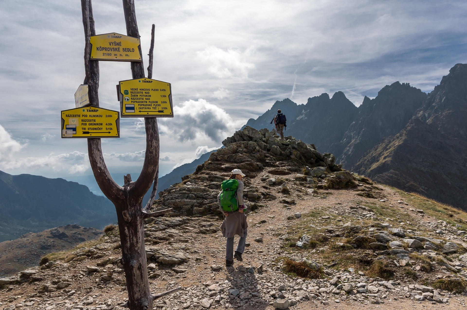 hiking in High Tatras and Koprovske sedlo