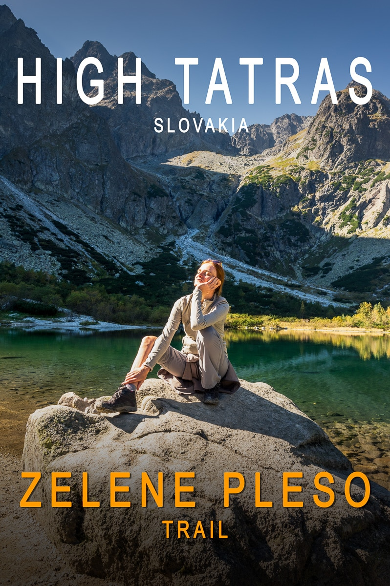 Zelene Pleso: A fun trail on High Tatras