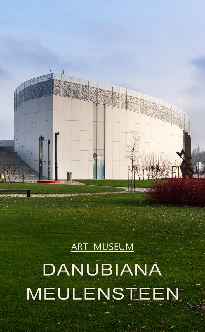 We spend half a day at the fabulous Danubiana Museum just outside Bratislava, and we dive into modern and contemporary art.