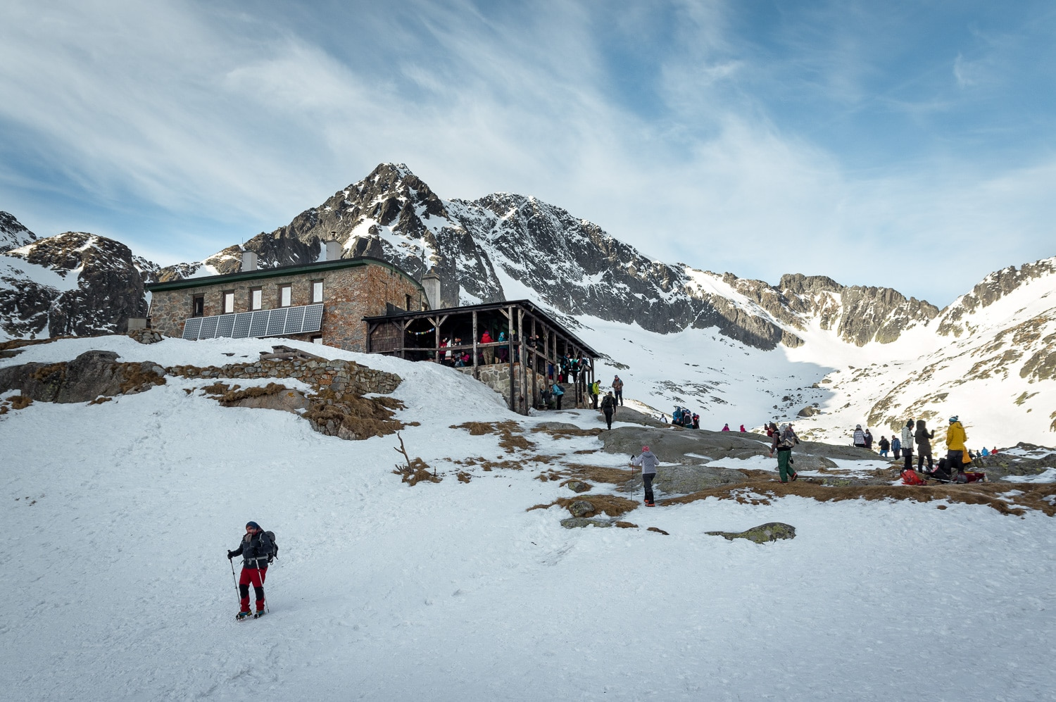High Tatras: The Winter Trail to Teryho Chata