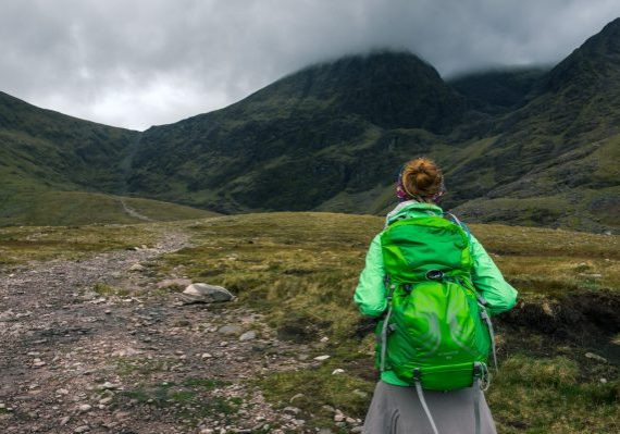 Carrauntoohil from the east